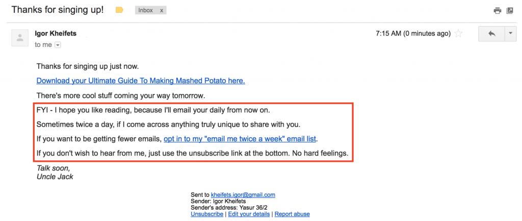 Email Marketing by Igor