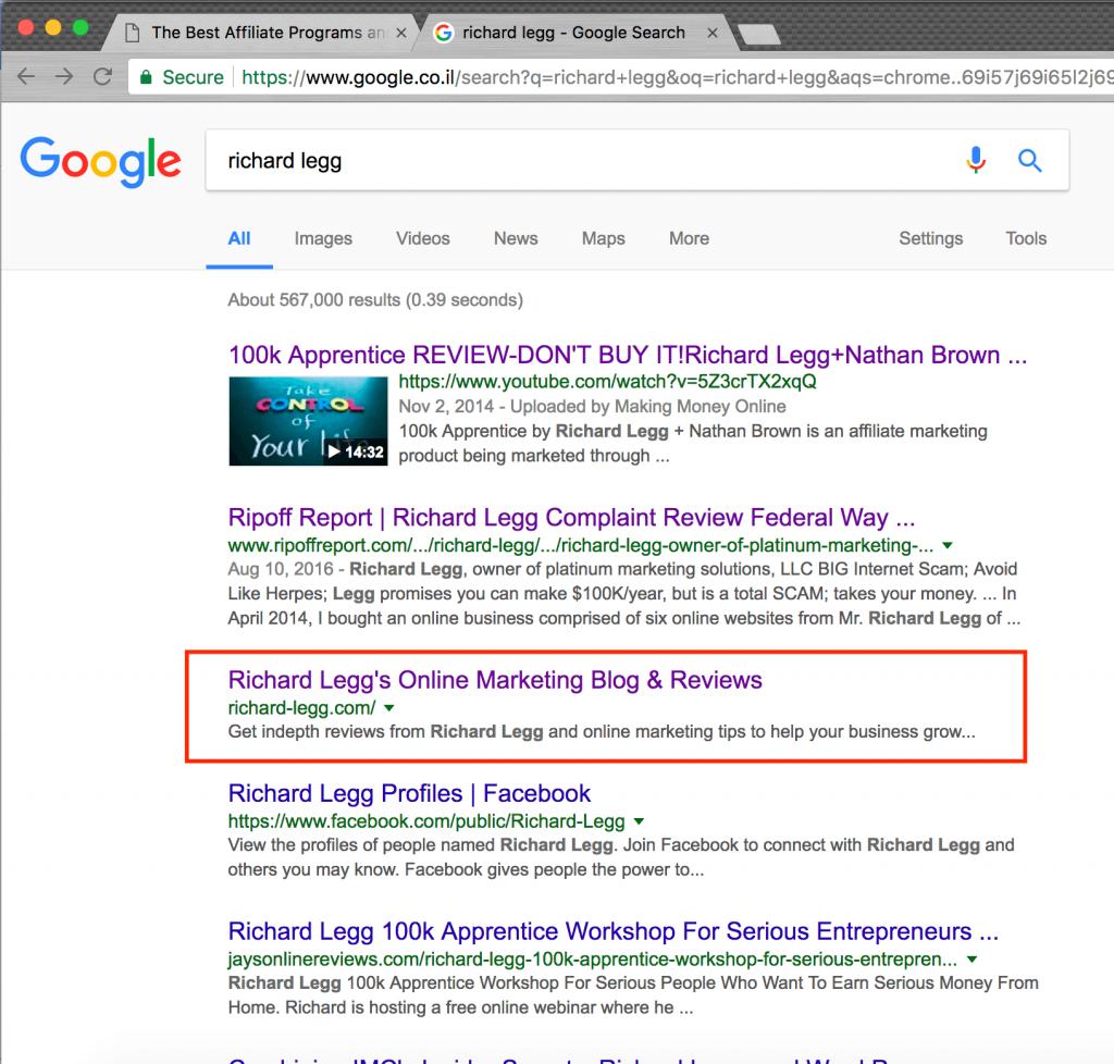 Richard Legg Google